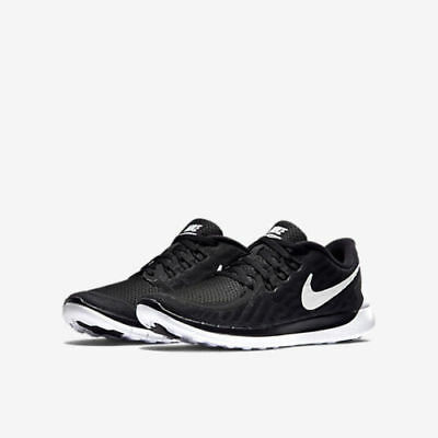 Nike Free 5.0 (GS) 725104-001 Black White Youth Boy's Running Shoes NEW IN BOX!