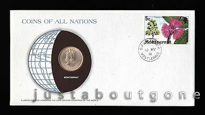 Lot167 Fdc Unc ─ Coins Of All Nations Uncirculated Stamp Cover