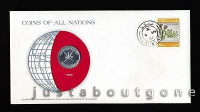 Lot186 Fdc Unc ─ Coins Of All Nations Uncirculated Stamp Cover