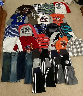 Huge lot of baby boy clothing - 18 months to 24 months