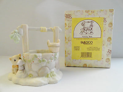 Precious Moments Nativity Well Figurine 292753 with Box