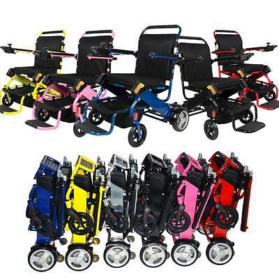 NEW Folding Powerchair Electric Wheelchair *6 Colours* Great for Holiday Travel*