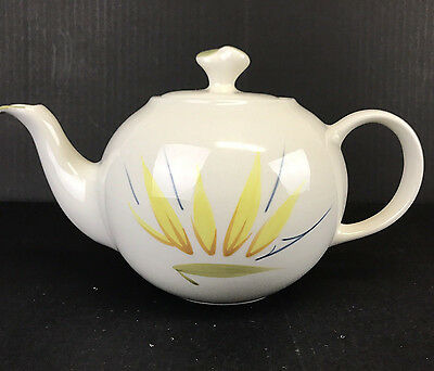 Vintage Winfield Bird of Paradise Teapot with Lid Hand Crafted CA