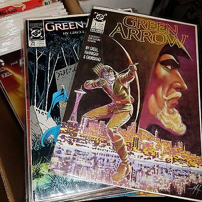 Green Arrow (Vol 1, 1988) Lot - Complete Run of Issue #s 1-25, Mike Grell