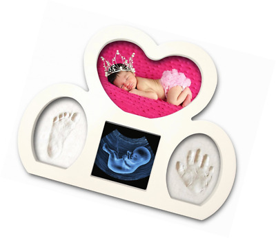 Newborn Babyprints Kit by Epicoz - Baby Handprint and Footprint Photo Frame Keep