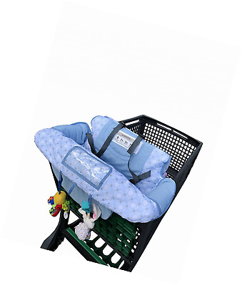 Hi Mom 2 in 1 Baby shopping Cart Cover for supermarket or high chair, choose you