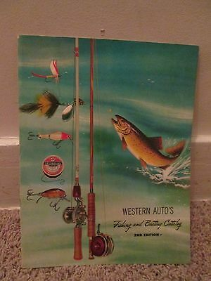 Western Autos Fishing and Boating Catalog 1952