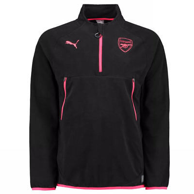 Arsenal Training Fleece 2017/18 (Black)