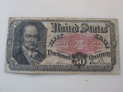 Series of 1875 50 Cents Fractional Currency FR#1381