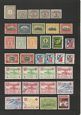 Dominican Republic ~ Small Collection B.o.b. ~ Service - Postage Due - Charity