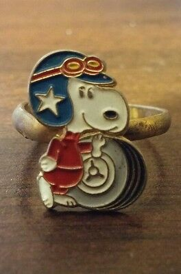 Very Old Peanuts Snoopy Ring