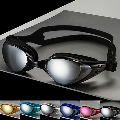 Professional Adult Waterproof Anti-Fog UV Shield Swim Glasses Swimming Goggles