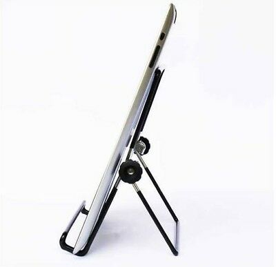 Laptop Stand Mount Holder Universal Adjustable Portable Cooling Desk Height Blac