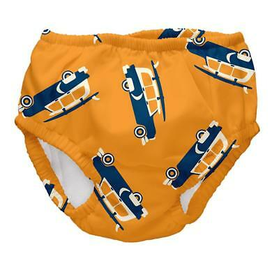I Play Boys Baby Swim Diaper Orange/Dark Blue sz. 0-6, 18-24 Months