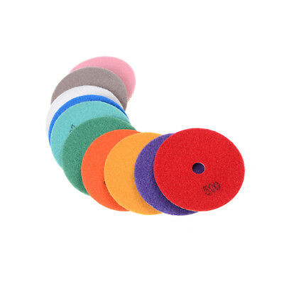 Diamond Polishing Pads 4 inch wet/dry Granite Marble Concrete Stone  SN
