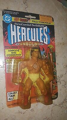 Hercules vintage LOST WORLD OF THE WARLORD Remco DC comic action figure 1982