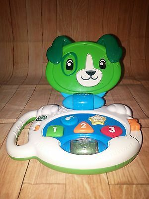 Leapfrog 19197 My Talking Lap up Scout Lively Puppy Pal Baby Toy   Tote 3