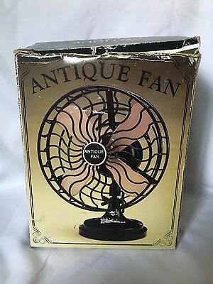 Mini Antique Fan style collection Antique Decorative Gift working table fan
