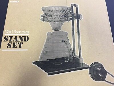 Hario Coffee Drip Maker V60 Pour Over Stand Set VPOS-1506-SV Sets from Japan
