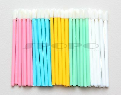 50/100/500pcs Color Makeup Disposable Lip Brush Wands Applicator Lip Gloss Tools