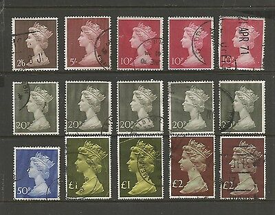 GREAT BRITAIN, UK - Queen Elizabeth II, Machins, larger size, No.3