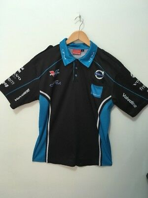 BNWOT Volvo Racing Official merch V8 Supercar Team Mens Polo Shirt sz L XL