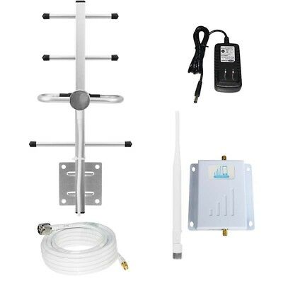 Band13 Verizon 4G LTE 65dB 700MHz Cell Phone Signal Booster Repeater+ Antennas