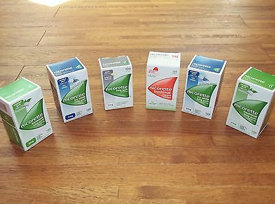 NICORETTE CHEWING GUM X 105 Pieces (Choose Strength and Flavour)