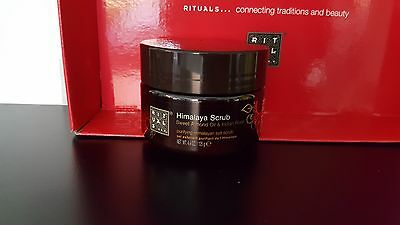 ; ) RITUALS himalaya scrub  NEUF POT DE 125G sweet almont+indian rose