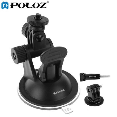 PULUZ Car Suction Cup Tripod Mount Kit For GoPro HERO5 4 3+ 3 2 1 Camera