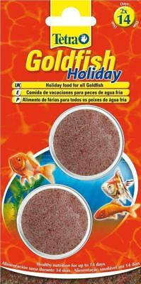 Tetra Goldfish Holiday Pet Coldwater Aquarium Fish Food - 2 x 12g