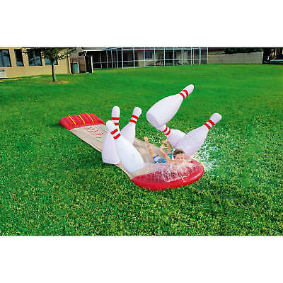 H2OGO! Slide N Splash Bowling Water Slide Fun Summer Toy