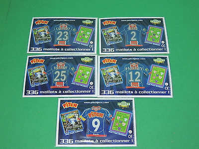 Magnet equipe PSG Paris St Germain Just Foot Pitch 2009 maillot football lot #25