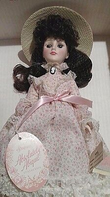 """Vintage but New In Box Effanbee """"Absolutely Abigail"""" Sunday Best 13"""" Doll"""