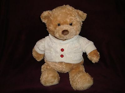 Sears Christmas Plush 2013 Gund Bear named NATE 16""