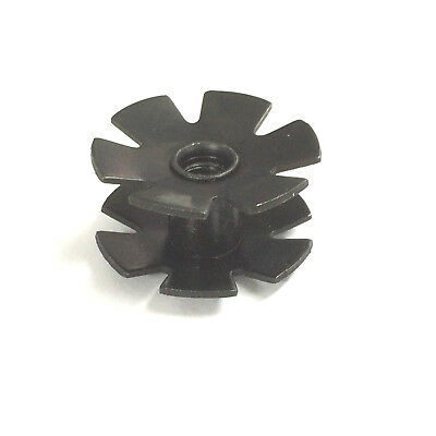 """Ixia Replacement 1 1/8"""" Stunt Scooter A-Head Star Fangled Steerer Nut"""