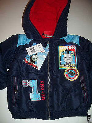 THOMAS the tank engine Train & Friends WINTER COAT jacket 2T NWT $75 tag