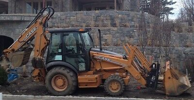 Case 580SM Backhoe