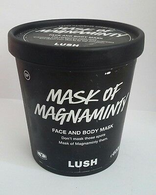 Lush Mask Of Magnaminty Massive 600g Face & Body Mask Dated 01/11/2017