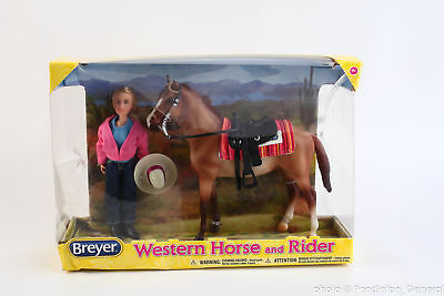 Breyer Western Horse and Rider Horse and Doll set