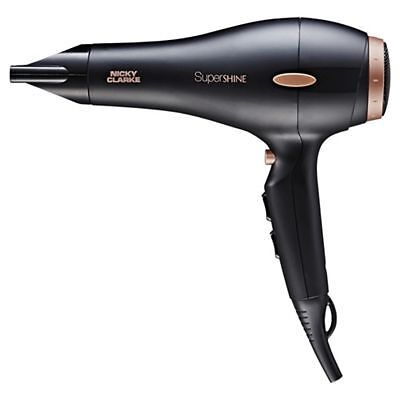 Nicky Clarke SuperShine AC 2200W Hair Dryer With 2 Speed Settings