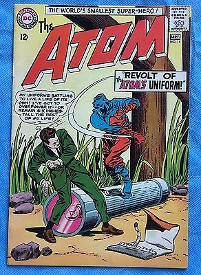 ATOM #14 VG+ 4.5 (Cover detached at 1 staple) DC 1964