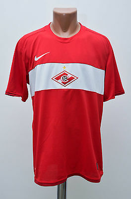 Spartak Moscow Russia 2009 Home Football Shirt Jersey Maglia Nike