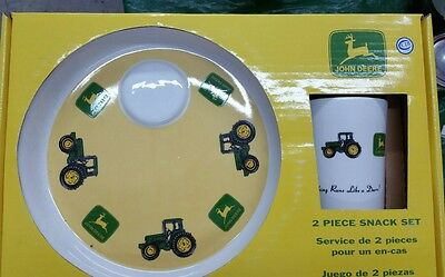 John Deere snack set for adults and children.  Great gift for all.