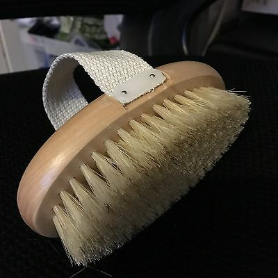 Alida Body Brush with Strap Ideal for Dry Skin