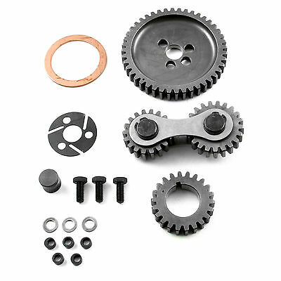 Scorpion Small Block Chevy Timing Gear Drive Dual Idler SBC 327,350,383,400,406