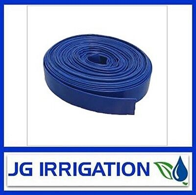 Blue Layflat Hose 50mm – 5 Meter Roll