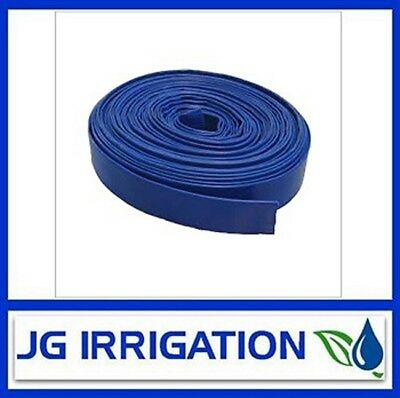 Blue Layflat Hose 40mm – 10 Meter Roll