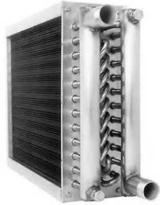 24x24 3 core Water to air heat exchange coil aluminum