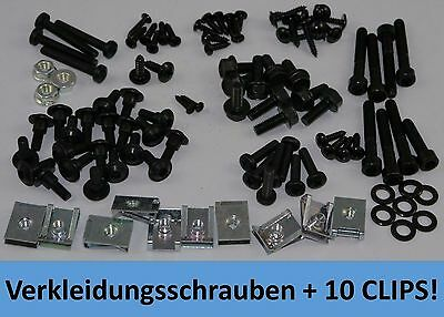 Ultra Set Black - Fairing + Vario Screws Peugeot Speedfight 2 + Clips